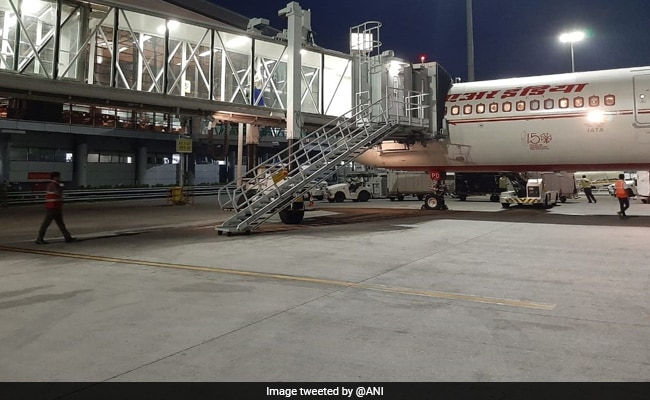 Air India Flight Brings Back Over 160 Stranded Indians From US To Hyderabad
