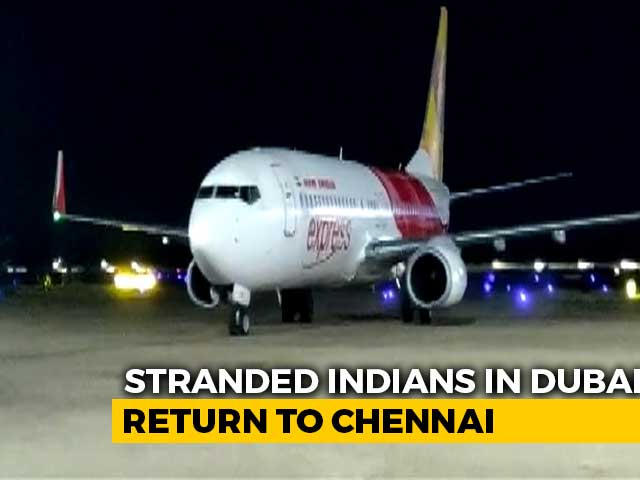 Video : 356 Indians, Including 3 Infants, Flown Back From UAE In Special Flights