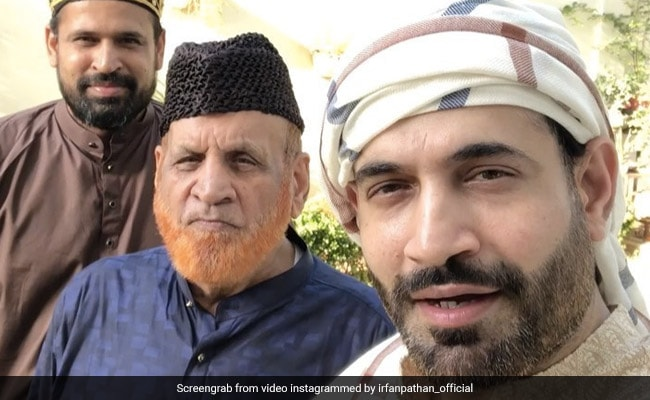 Ifran Pathan tweets and wishes on eid festival Watch Video