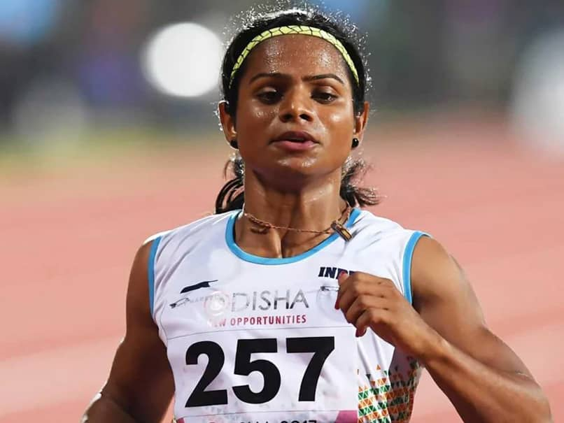 Dutee Chand Resumes Outdoor Training After 2 Months After Relaxation In Lockdown Guidelines