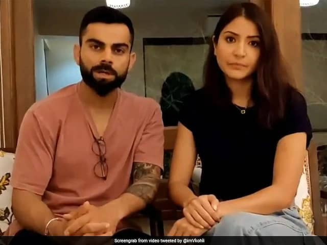 Virat Kohli, Anushka Sharma Donate Rs 5 Lakh Each For Mumbai Police