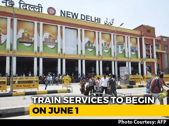 Video : Online Bookings Open Tomorrow For Passenger Trains From June 1