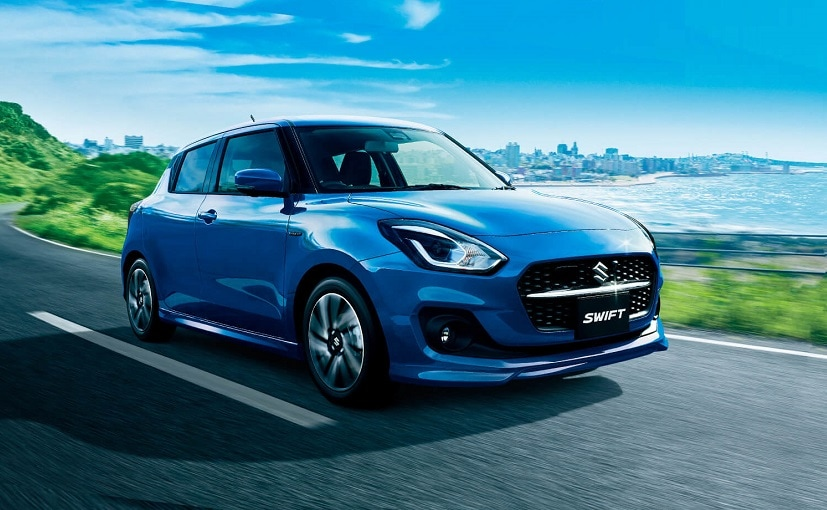 2020 Suzuki Swift Facelift Revealed; Launched In Japan