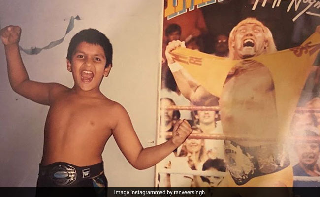 Ranveer Singh Shares A Throwback From The Time 'When WWF Was Life.' His Inspiration - Hulk Hogan