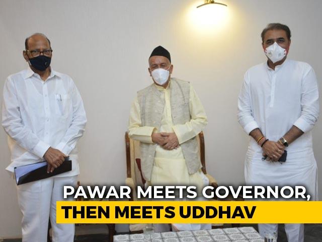 "Video : Devendra Fadnavis ""Impatient"" But Government Safe: Sharad Pawar To NDTV"