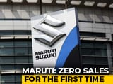 Video : Maruti Suzuki Reports Zero Sales In A Month For First Time Ever Amid Lockdown