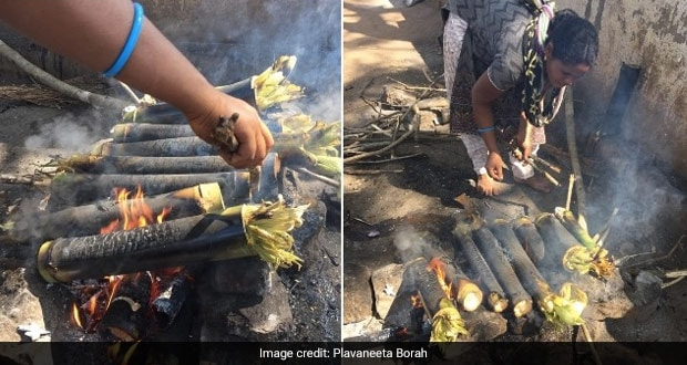 When In Andhra, Try Bamboo Chicken – The Hottest-Selling Street Food