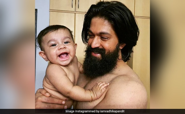 Radhika Pandit Shares A Pic Of Her 'Favourite Boys' Yash And Ayush. Cute, Na?