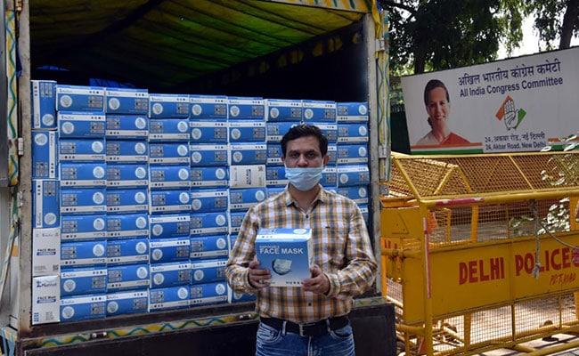 प्रियंका गांधी ने एक लाख मास्क वाराणसी भेजे, कांग्रेस का यूपी में 67 लाख लोगों की मदद करने का दावा