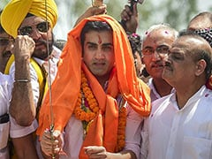AAP Taunts Gautam Gambhir With This Video Taken Outside His Home