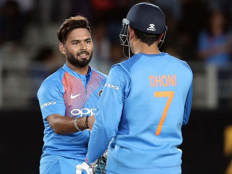 """Rishabh Pant Feels """"Amazing"""" On MS Dhoni Comparisons, But Wants To Make A Name For Himself"""