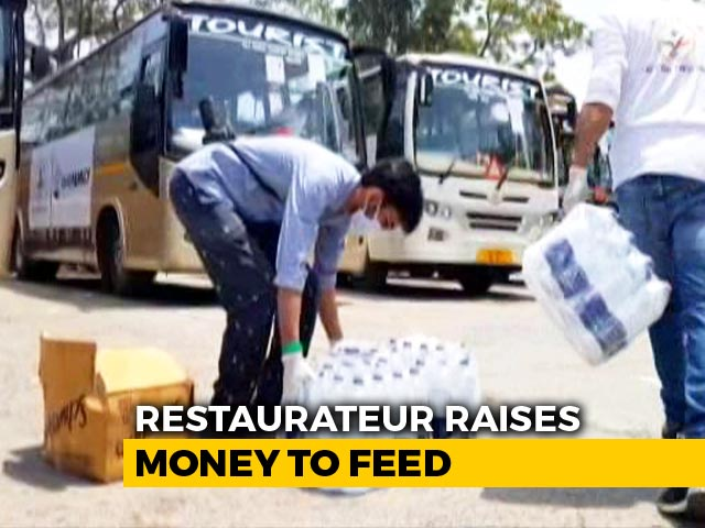 Video : 2 Restaurateurs' Small Act Of Feeding 30 Migrants Grows To 6,000 Families