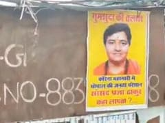 """Pragya Thakur In AIIMS"": BJP After 'Missing' Posters Prop Up Across Bhopal"