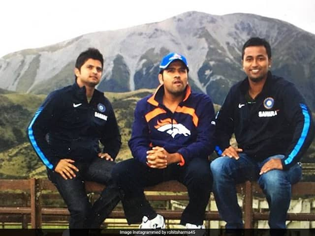 """""""Remembering How Beautiful Your Smile Is"""": Rohit Sharma Teases Ex-India Cricketer"""