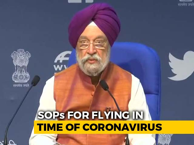 Video : The Time Has Now Come To Open Up Again, Says Aviation Minister
