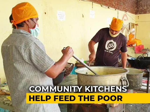 Video : Jaipur Community Kitchen, Run By 25, Feeds 1,500 Daily Wagers Twice Daily
