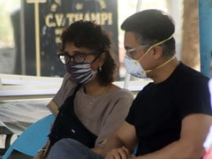 Aamir Khan And Kiran Rao Attend Funeral Of Their Assistant Amos
