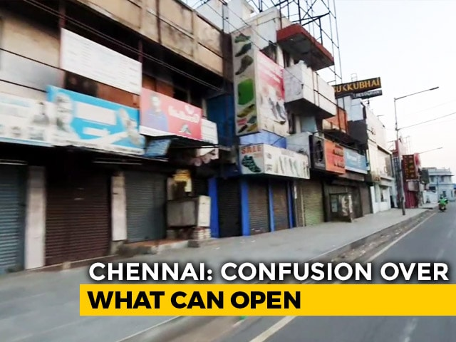 Video : No Easing Of Curbs, Chennai Cops Force Hundreds Of Shops To Shut
