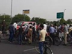 Delhi-Gurgaon Border Sealed Amid Massive Traffic Chaos