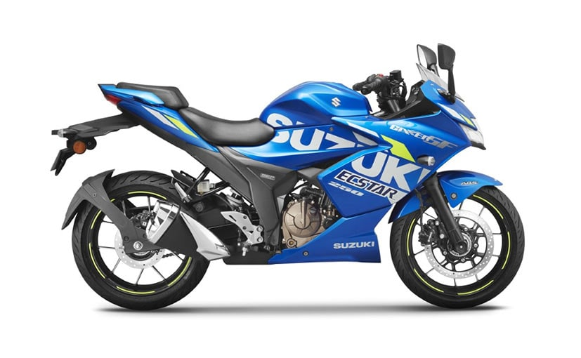 All models of the Suzuki Gixxer 250 range get a price hike of Rs. 2,041