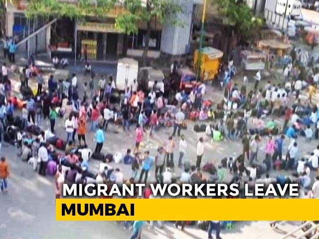 """Video : """"Won't Come Back To Mumbai:"""" Migrant Worker Tells NDTV"""