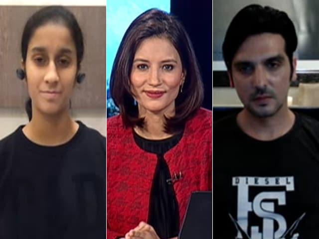 Videos : घर के भीतर एक्टिव रहकर भी स्वस्थ रहा जा सकता है : जेमिमा रोड्रिगेज और जायेद खान