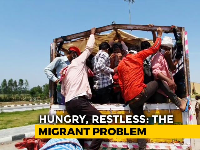Video : 1,000-km Journey, Rs. 10 In Pocket: Heartbreaking Story Of A Migrant