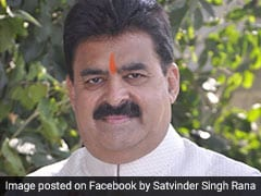 Former Haryana MLA Satvinder Rana Arrested In Alleged Liquor Theft Case