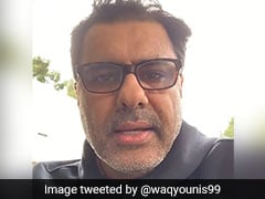 Waqar Younis Quits Social Media After Hacker Likes Obscene Video From His Twitter Account