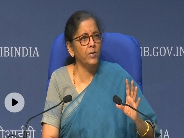 Nirmala Sitharaman Reviews State Of Economy At Financial Regulators Meet