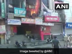 """Arvind Kejriwal Says """"Monitoring"""" Fire Incident At Jewellery Shop In Delhi"""