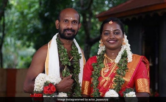 Inside Malayalam Actor Gokulan And Dhanya's Lockdown Wedding