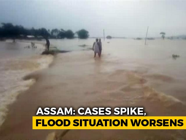 Video : In Assam's Flood-Hit Goalpara, Social Distancing Concerns At Relief Centre