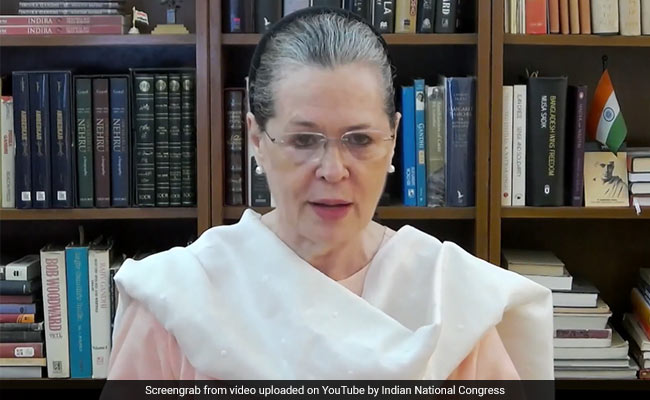 PM's Package Joke, No Empathy For Poor: Sonia Gandhi At Opposition Meet