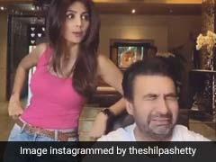 शिल्पा शेट्टी ने पति को दिया आलू का पराठा, तो पूछा- आलू कहां है, फिर यूं चढ़ गईं सिर पे...देखें Video