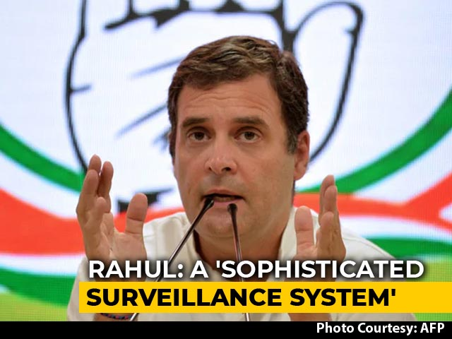 "Video : ""Aarogya Setu A Sophisticated Surveillance System"": Rahul Gandhi"