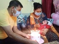 Corona पॉजिटिव कॉन्सटेबल और उनकी गर्भवती पत्नी ने दिया बच्ची को जन्म, दिल्ली पुलिस ने जो किया जोरदार स्वागत