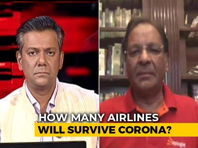 "Video : ""Social Distancing Norms On Flights An Eyewash"": SpiceJet Chief Amid Coronavirus Crisis"