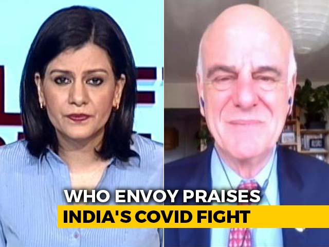 Video : Testing May Be Low But India Keeping Good Eye On Virus: WHO Envoy