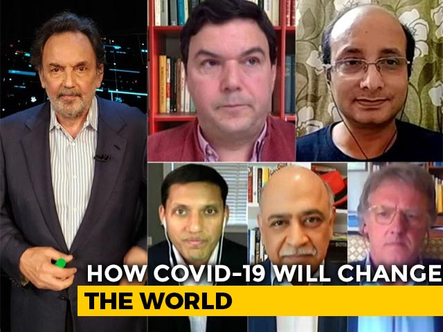 Video : Prannoy Roy's Townhall: Thomas Piketty, IBM Chief And Nobel Winner Sir Ratcliffe