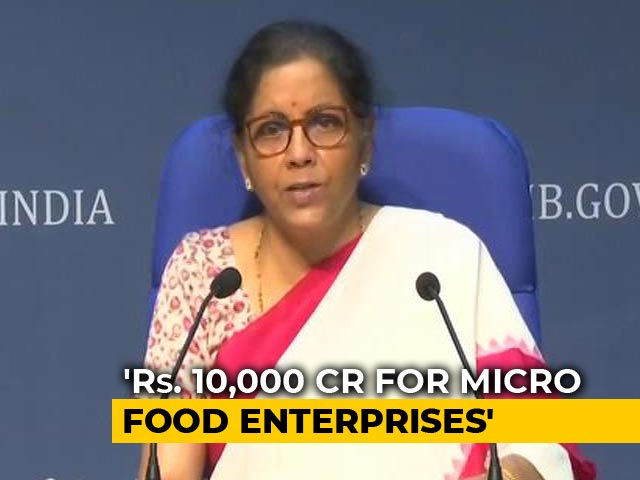 """Video : """"Turmeric Latte Big These Days"""": Why Nirmala Sitharaman Made This Point"""