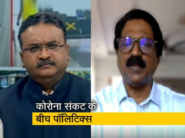 Videos : महाराष्ट्र : राजनैतिक अस्थिरता के सवाल पर शिवसेना MP अरविंद सावंत का जवाब