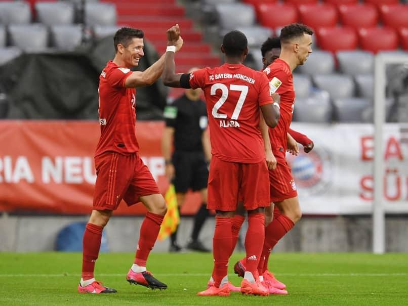 Bundesliga: Bayern Munich See Off Eintracht Frankfurt Fightback To Stay Four Points Clear
