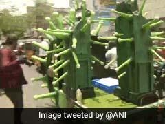 சென்னையை சானிடைஸ் செய்யும் 'Coronavirus Robots'!