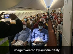 First Vande Bharat Repatriation Flight From Rome Takes Off With 239 Stranded Indians