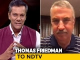 Video : Americans Are Leaderless In This Pandemic: New York Times Columnist Thomas Friedman Tells NDTV