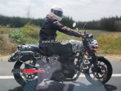 Royal Enfield Upcoming Motorcycle Spotted On Test
