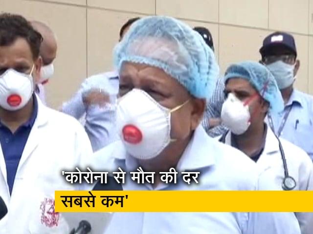 Video : Coronavirus से अब तक 10,000 मरीज ठीक हो चुके हैं: डॉ. हर्ष वर्धन