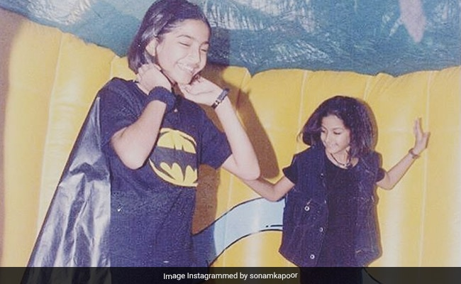 When Sonam Kapoor Wore A 'DIY Batman Costume' To A Not-Fancy-Dress Party