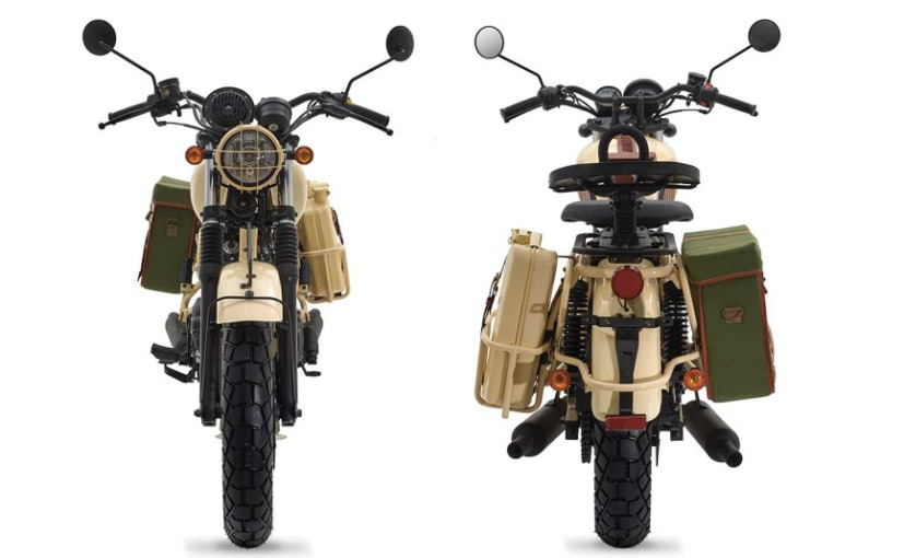 Mash Desert Force 400 Retro Styled Limited Edition Motorcycle Unveiled